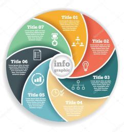 business circle info graphic diagram presentation in steps ilustraci n de stock [ 1024 x 1024 Pixel ]