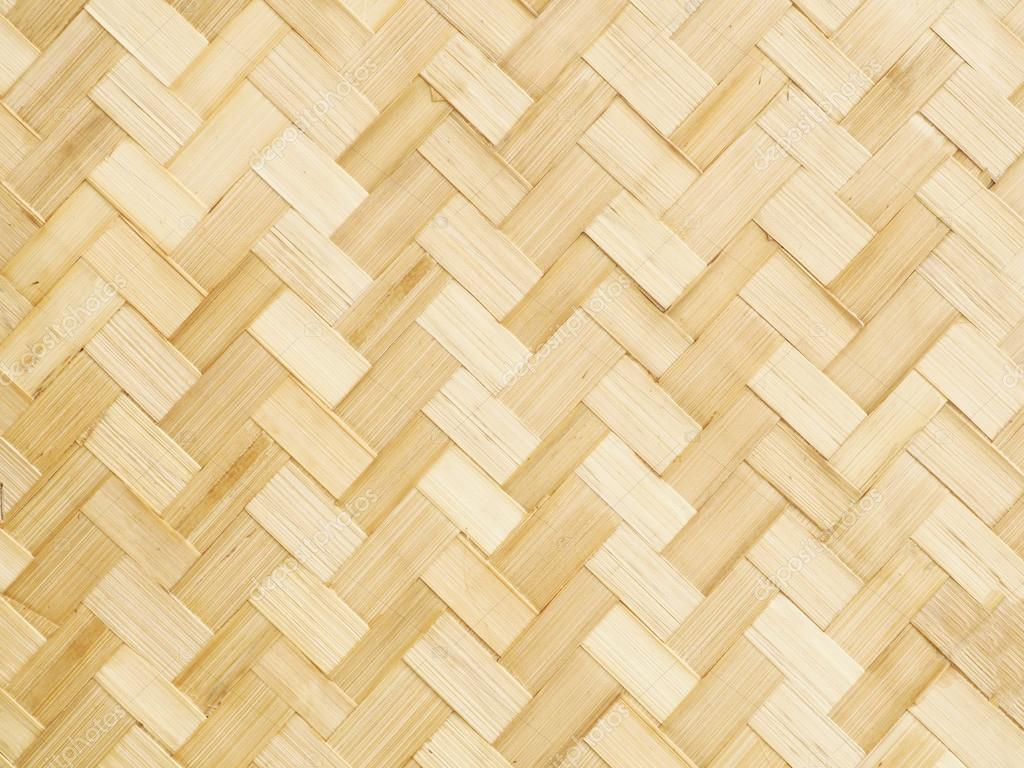 brown bamboo weaving background
