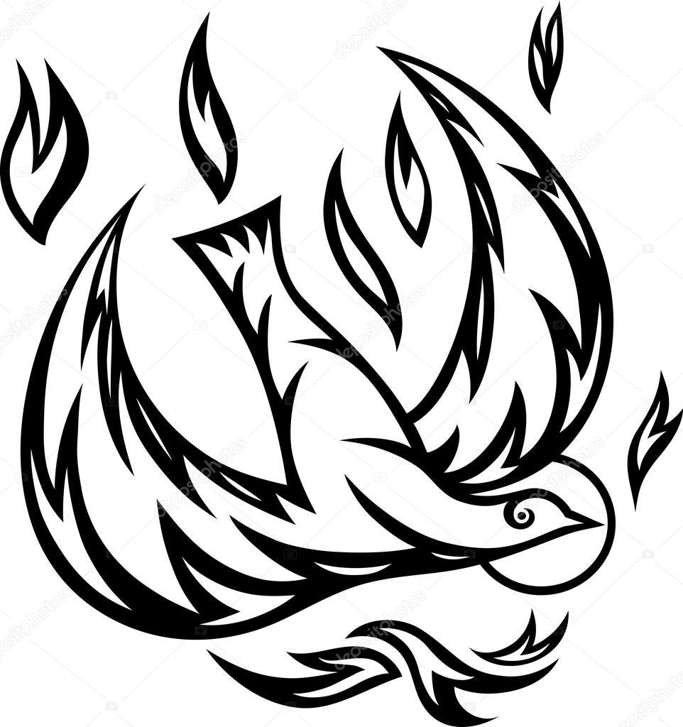 pomba Espírito Santo — Vetor de Stock © sumbajimartinus