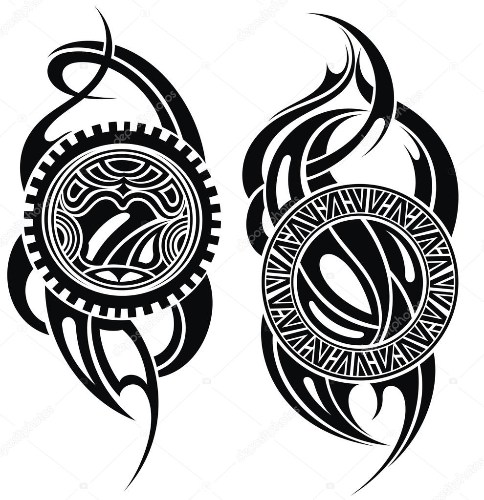Imágenes Tatuajes Para Descargar Maorí De Estilo Patrón De