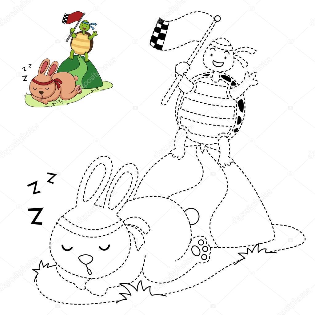 Elegante Disegni Da Colorare Per Bambini Di Tartarughe