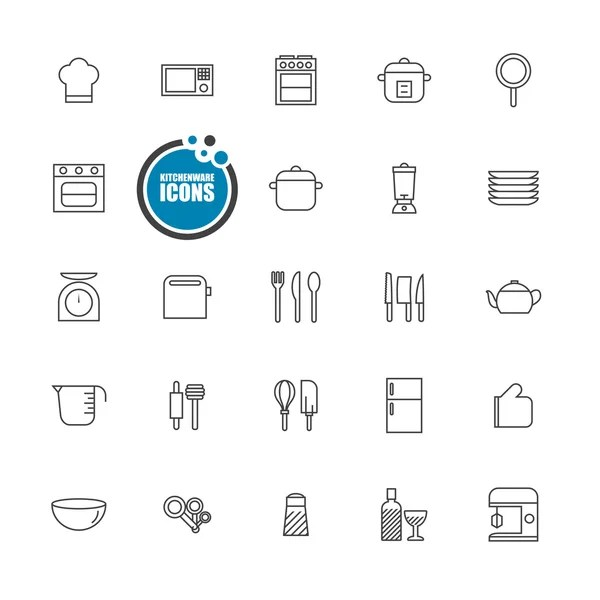 Coffee shop line icons.Mono icons pack 1.Pictogram
