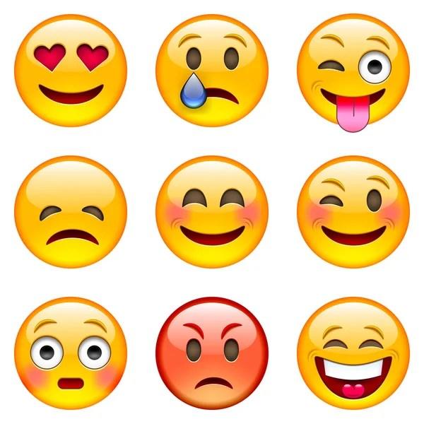 emoji stock vectors royalty