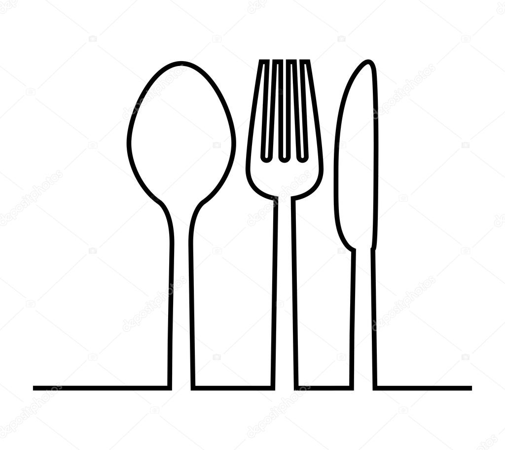 Clipart Fork Spoon And Knife