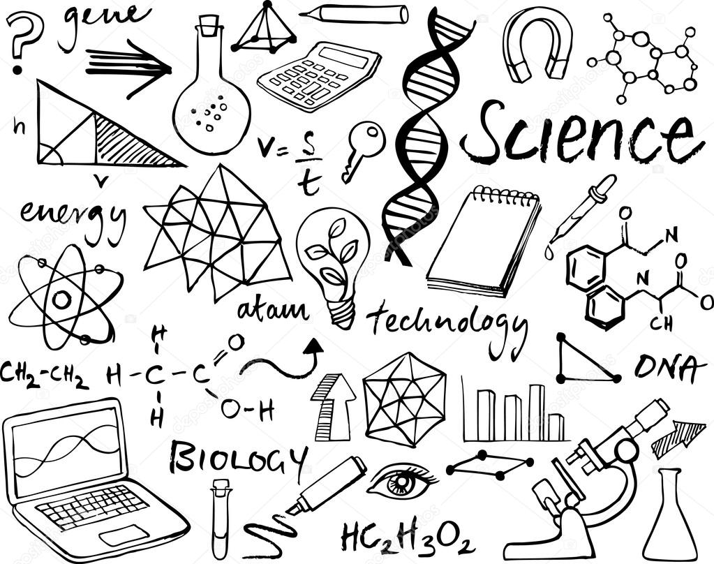 Science icons set — Stock Vector © OMW #64251625