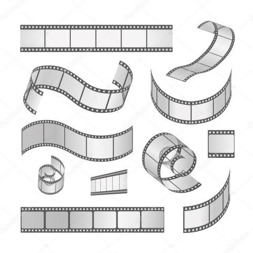 small resolution of slide film frame set film roll 35mm media filmstrip negative and strip vector