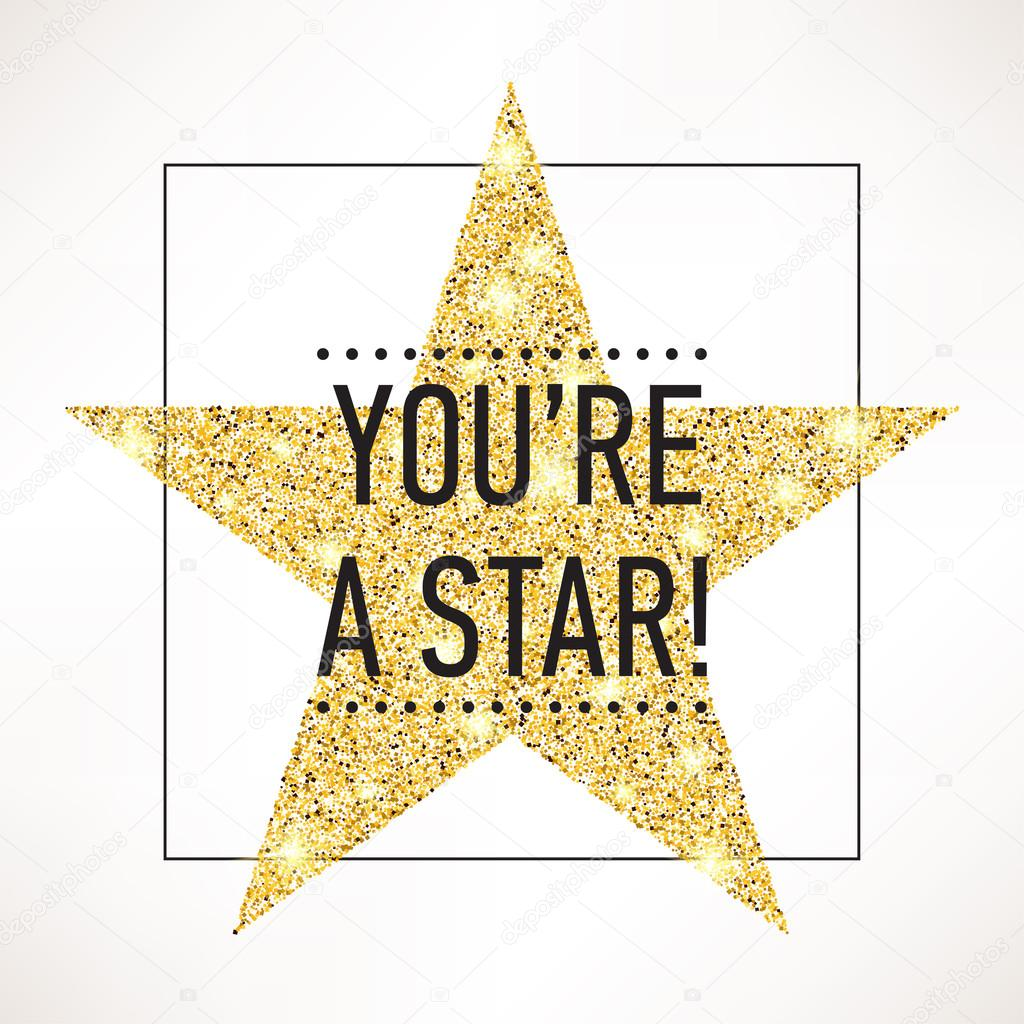 Sample Text You Re A Star