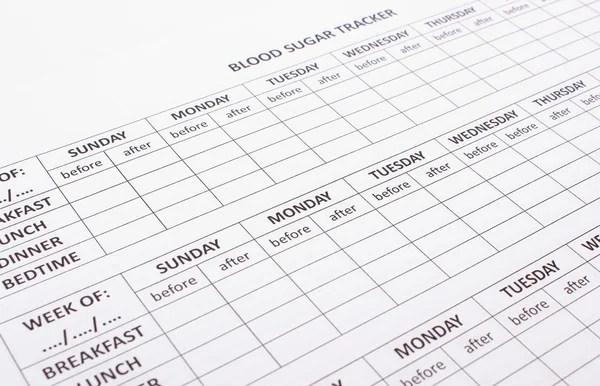 Weekly planner. Multicolored schedule. — Stock Vector