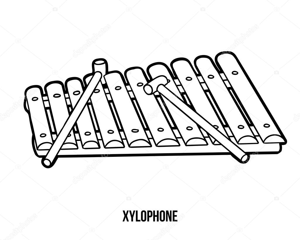 Pictures Xylophone To Color
