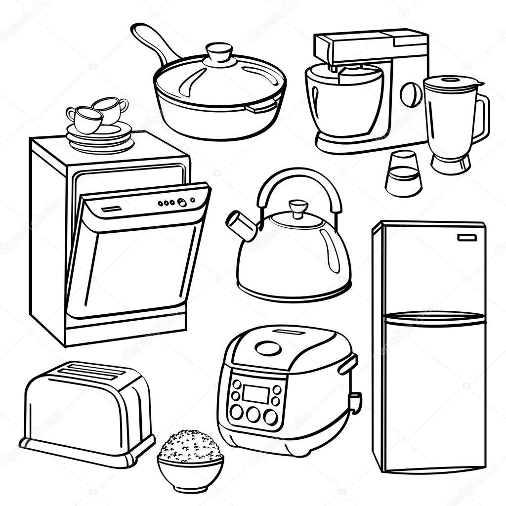 Kitchen Utensils And Appliances