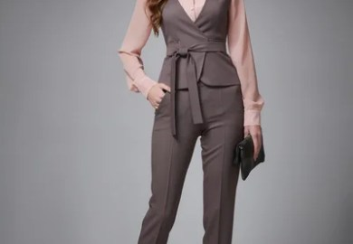 Uncategorized Business Woman Pants Tight