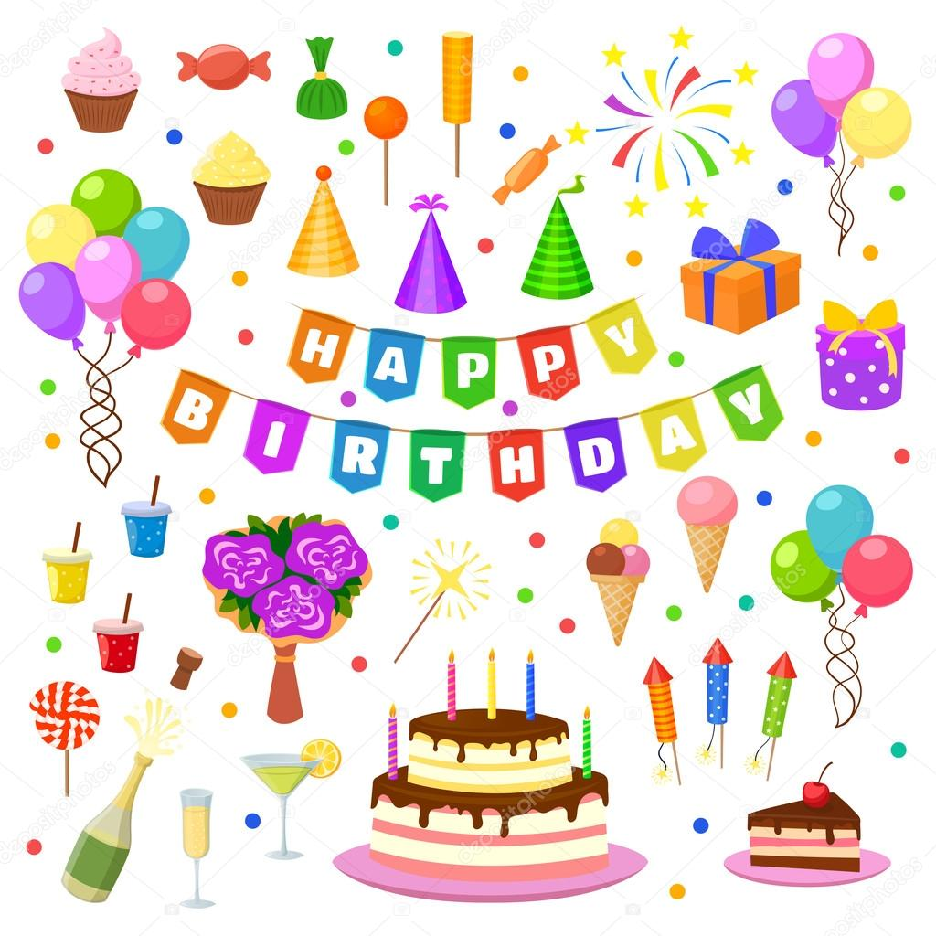 Birthday Party Symbols
