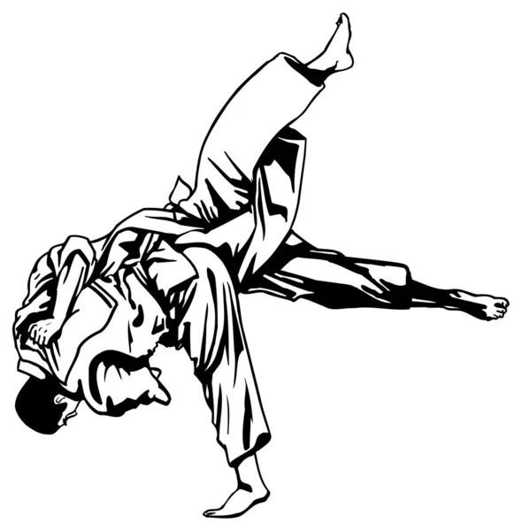 Judo Vetores de Stock, Ilustrações Vetoriais Free Judo