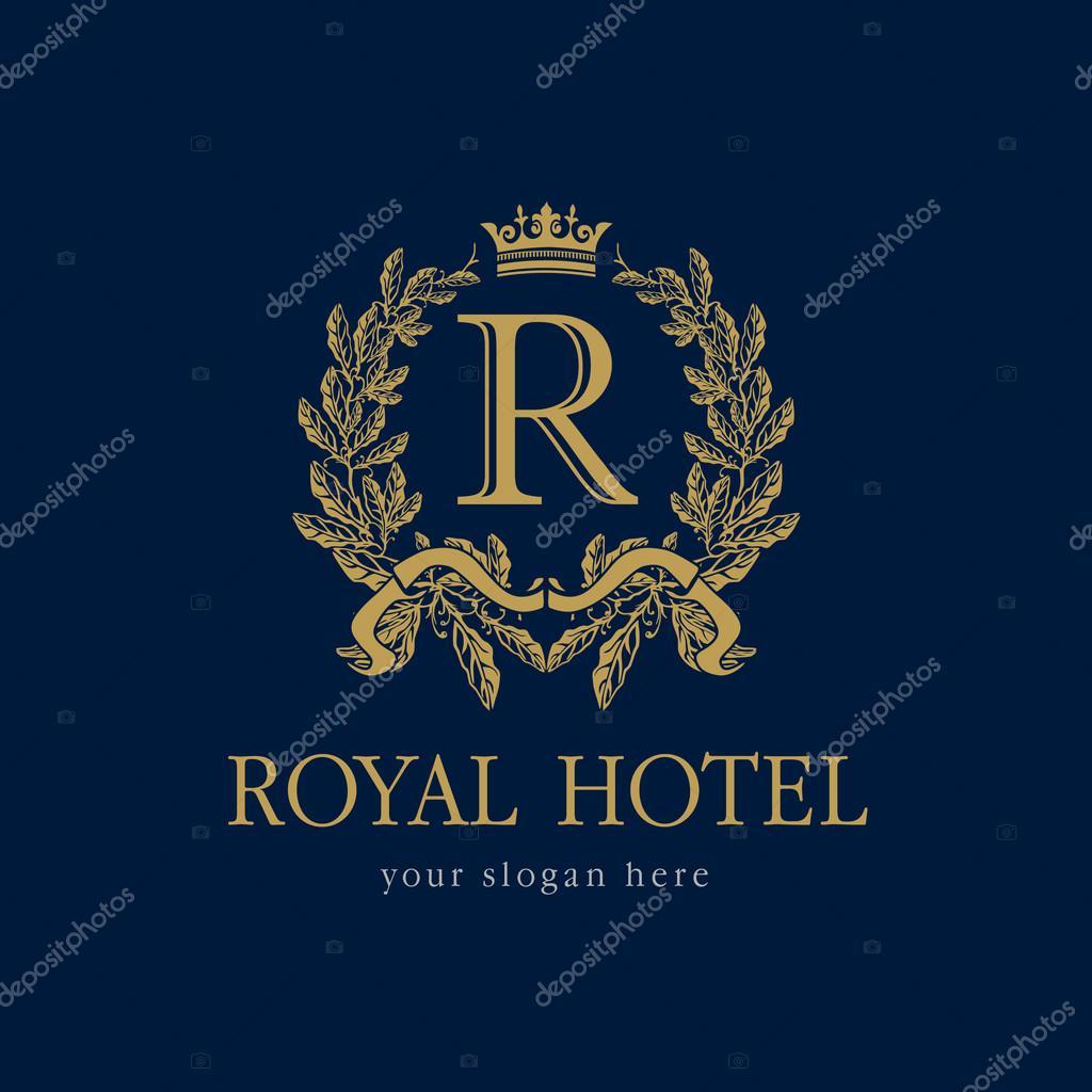 Royal Hotel Logo Stock Vector KoltukovAlek 81131596