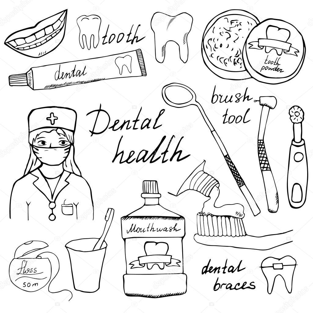 Tooth Brushing Steps Worksheet