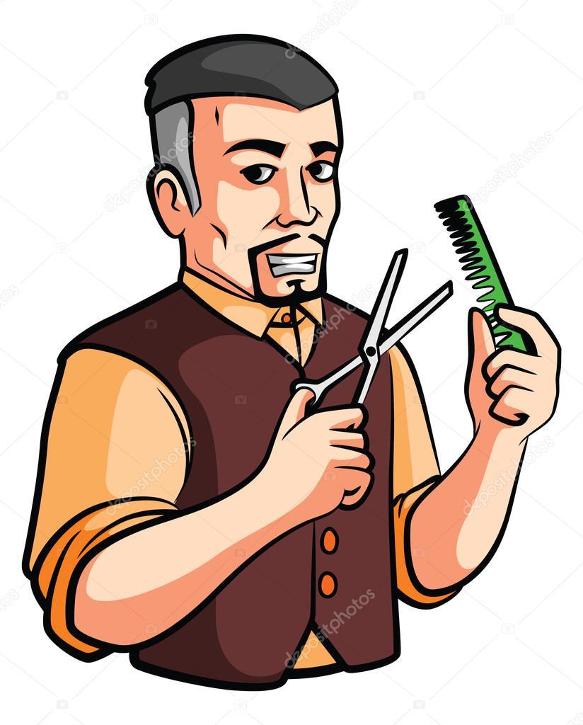 Imgenes peluquero  tienda de peluquero  Vector de