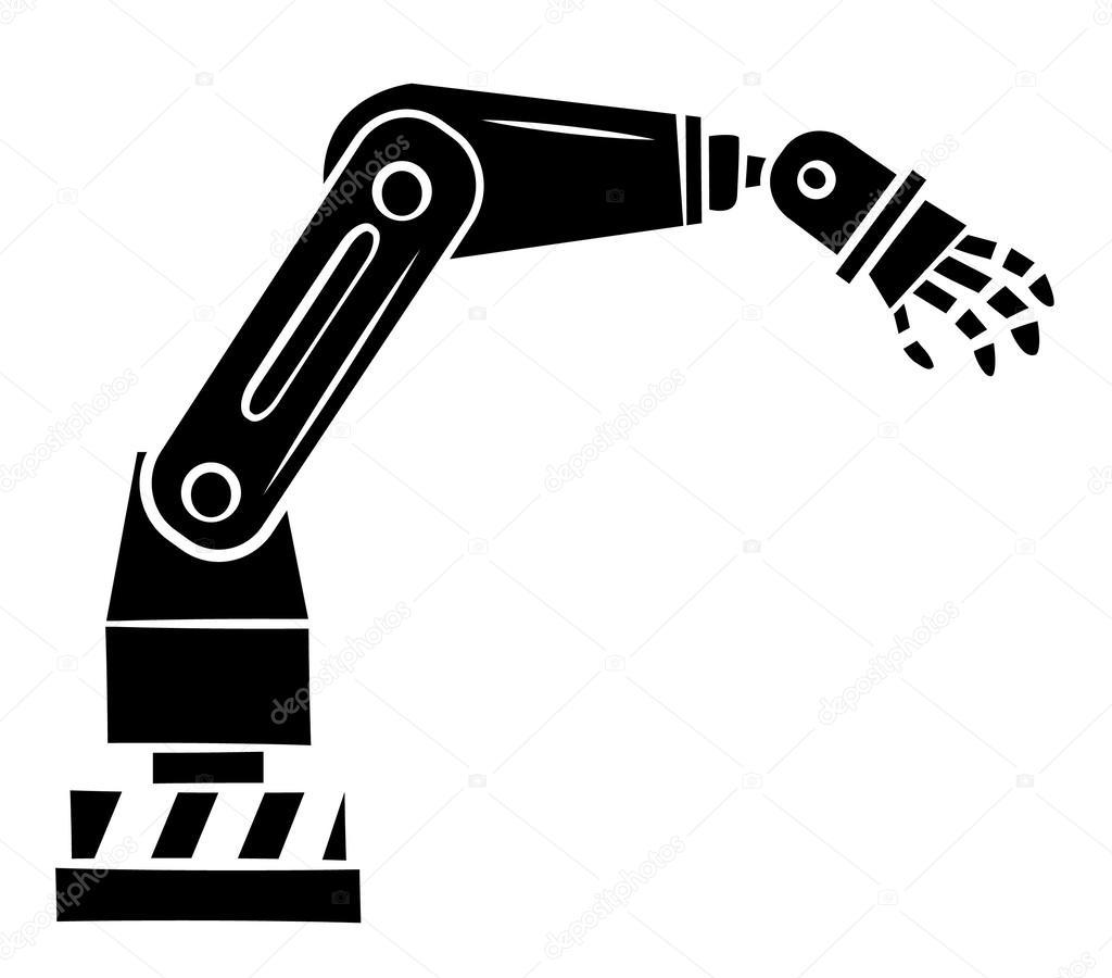 Ilustracion Robotica Vectorial