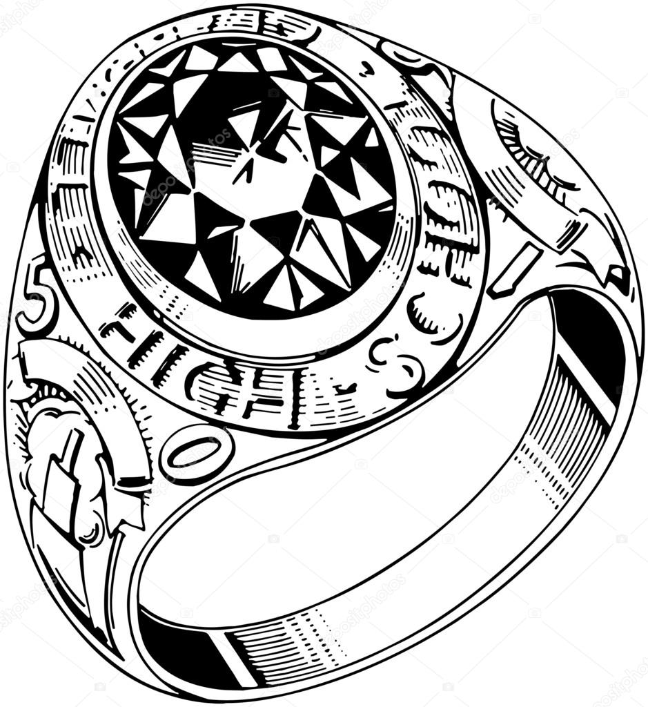 Grad Ring Round — Stock Vector © RetroClipArt #55669333