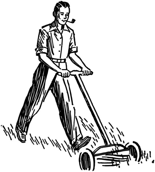 ᐈ Lawn mowing stock vectors, Royalty Free lawn mowing