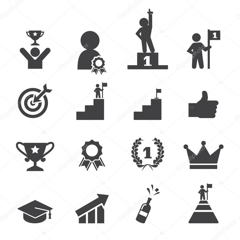 Erfolg Icon Set
