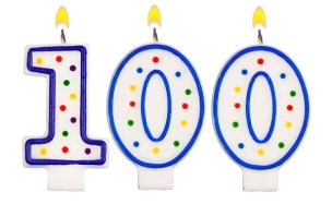 Image result for 100 candles