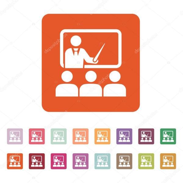 L'icne De La Formation. Enseignant Apprenant Classe