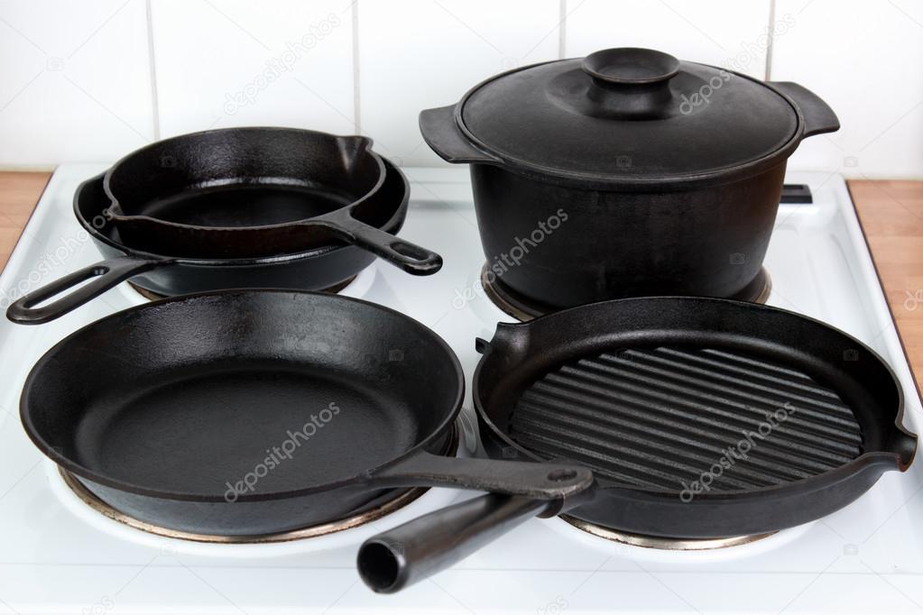 Cast Iron Utensils Stock Photo Arskajuhani 78895654