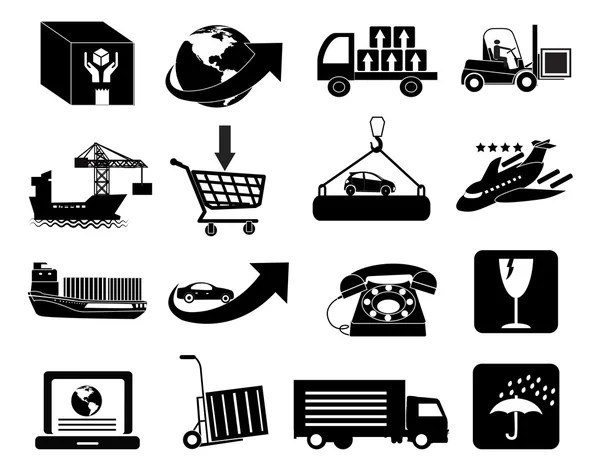 Good Business Day Stick Figure Pictogram Icons — Stock