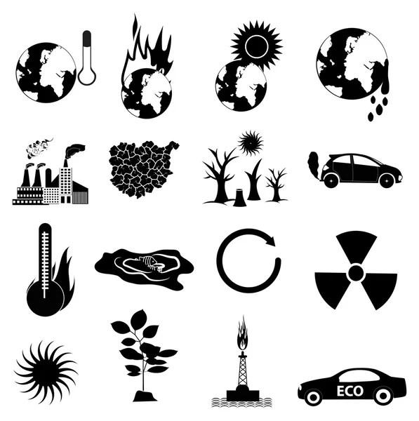Vectores de stock de Calentamiento global, ilustraciones
