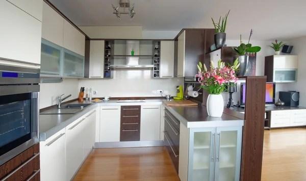 modular kitchen stock photos