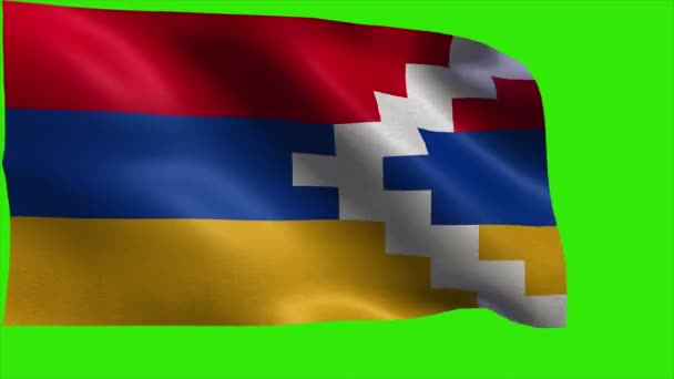 nagorno karabakh republic flag