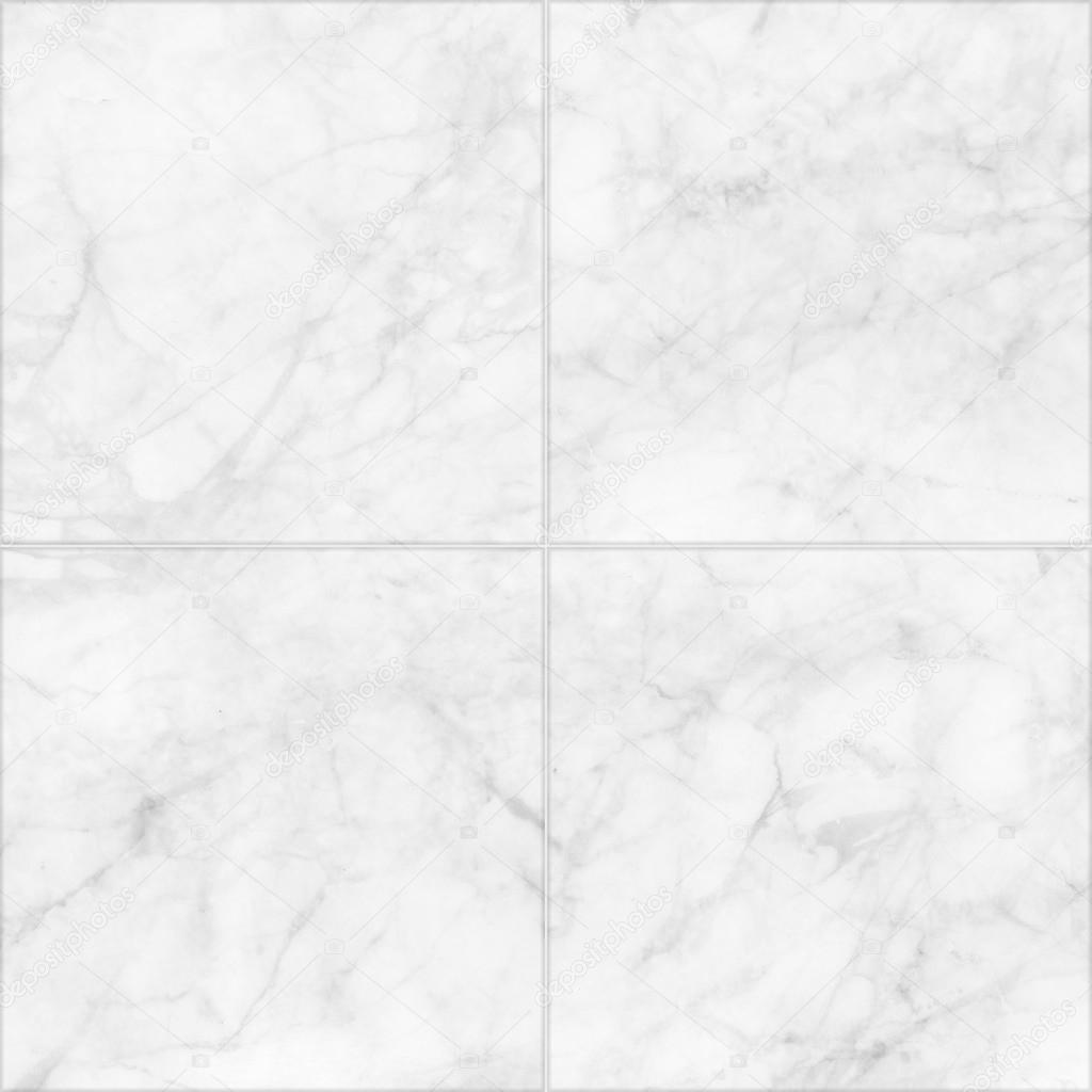 White Marble Tiles Seamless Flooring Texture Background