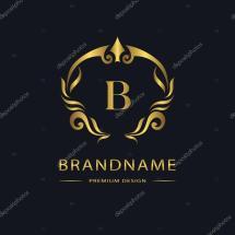 Vintage Letter B Logo