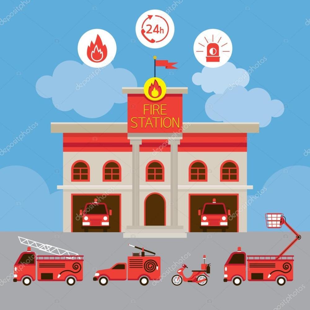 medium resolution of estacion de policia animada www imgkid com the image fire station clipart for free fire station clip art emblem