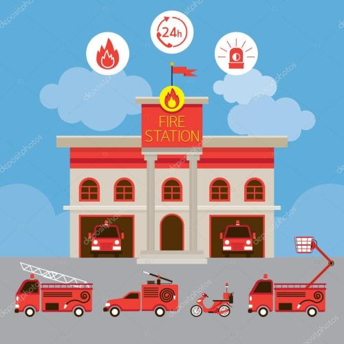 small resolution of estacion de policia animada www imgkid com the image fire station clipart for free fire station clip art emblem