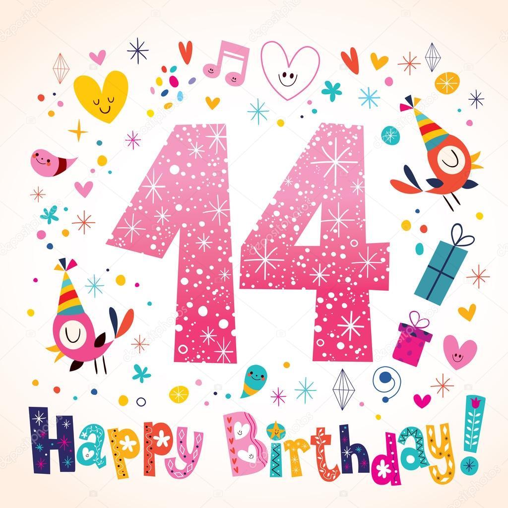 Verjaardag 14 Jaar Tekst Verjaardag