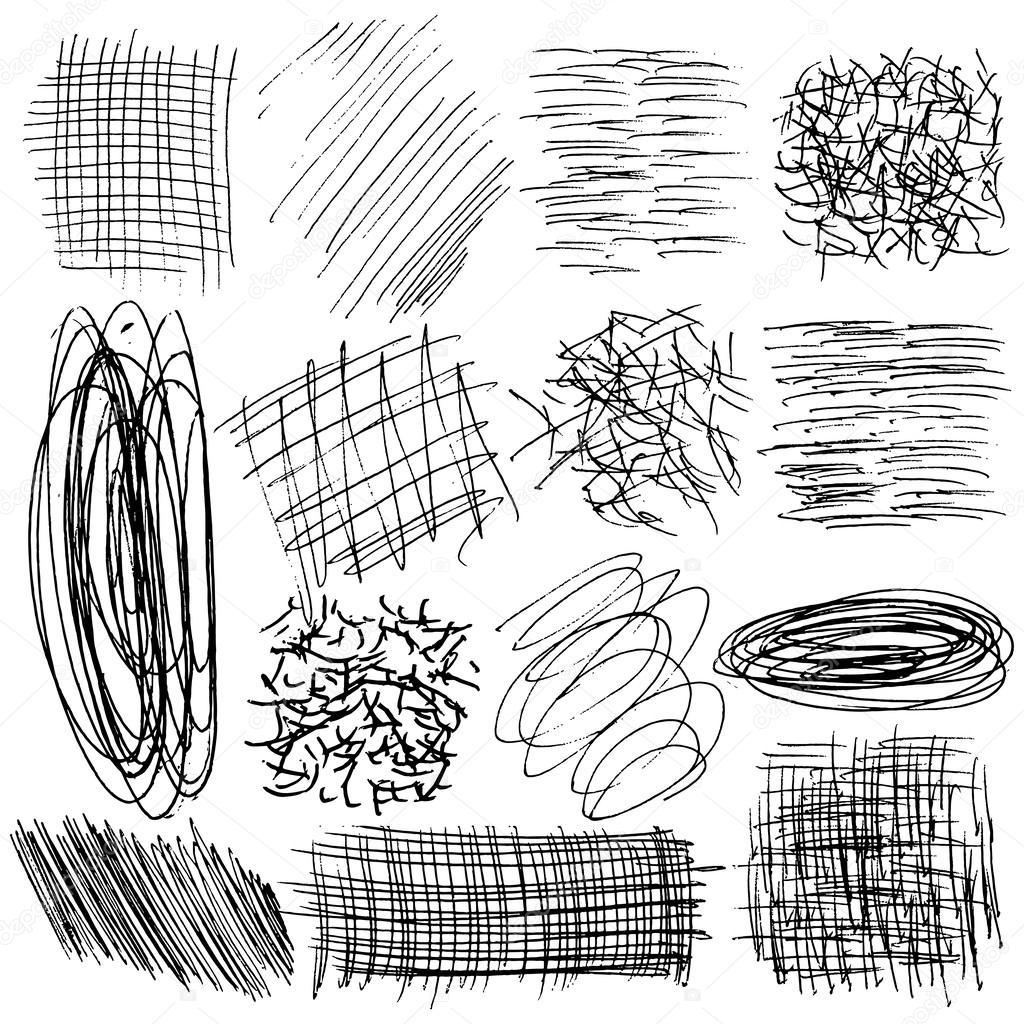 Hand drawn lines — Stock Vector © goldenshrimp #61577843