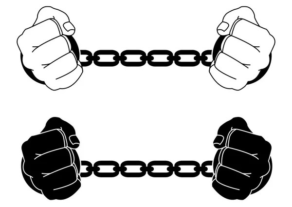 Chained Stock Vectors, Royalty Free Chained Illustrations