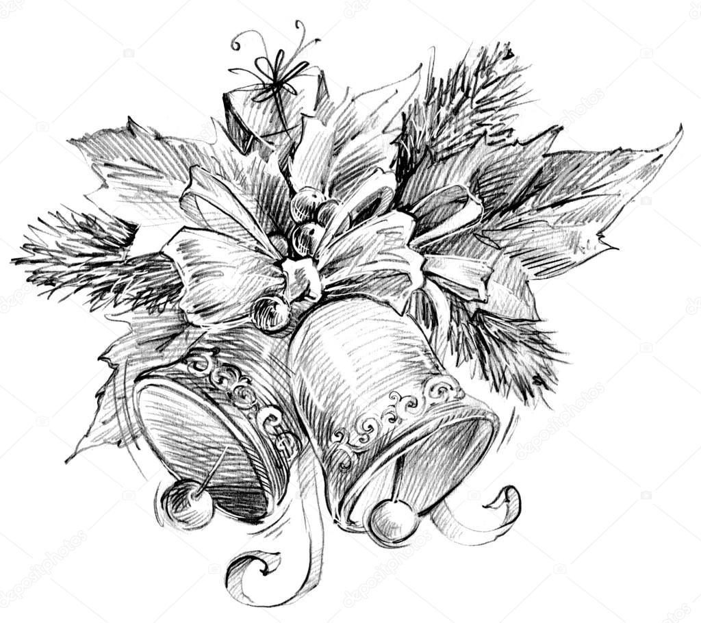 Christmas Bell Christmas Tree Christmas Flower