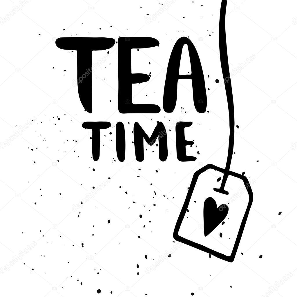 Stock Quote Data Auto Electrical Wiring Diagram This Qiye Atv3300 Routing Illustration Of Tea Time Vector Maria Galybina 104601574