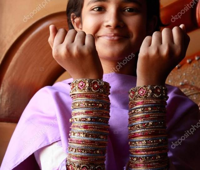 Pakistani Girl Stock Photo