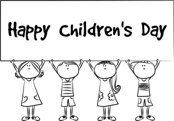 Happy children's day — Stock Photo © wenpei #65742527