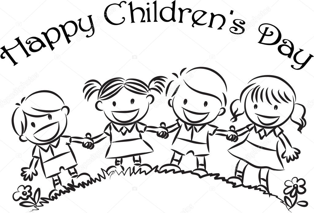 Happy children's day — Stock Photo © wenpei #65742527