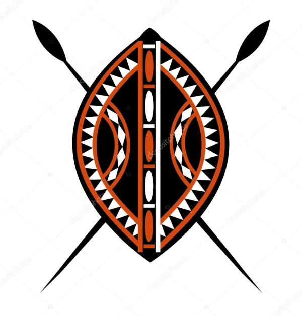 20+ African Shield And Spears Clip Art Ideas and Designs