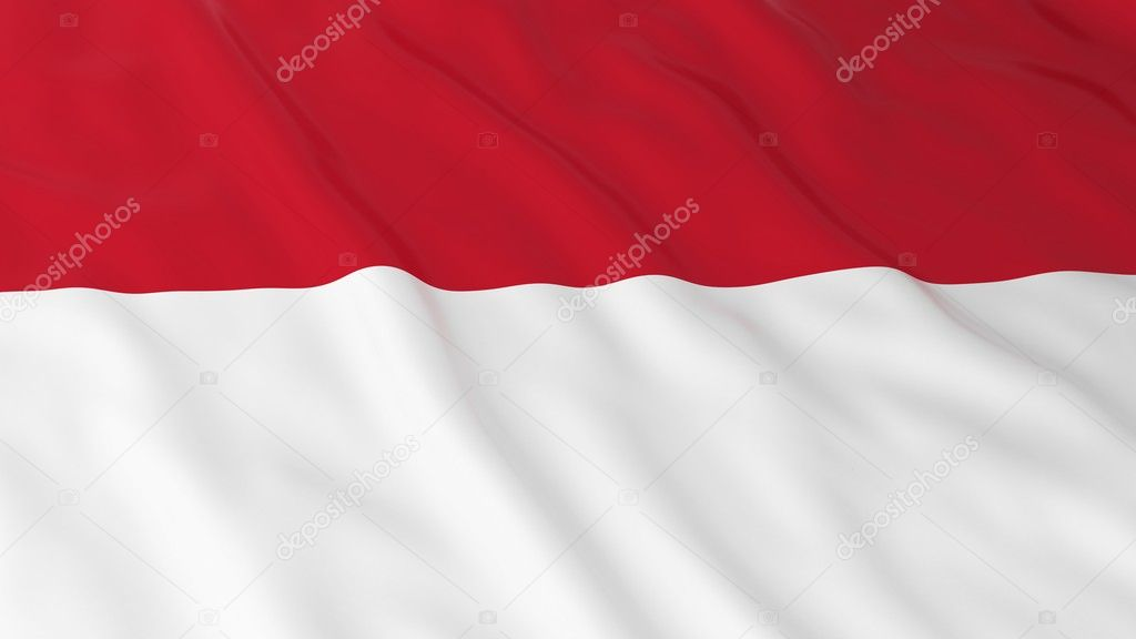 monegasque indonesian flag hd
