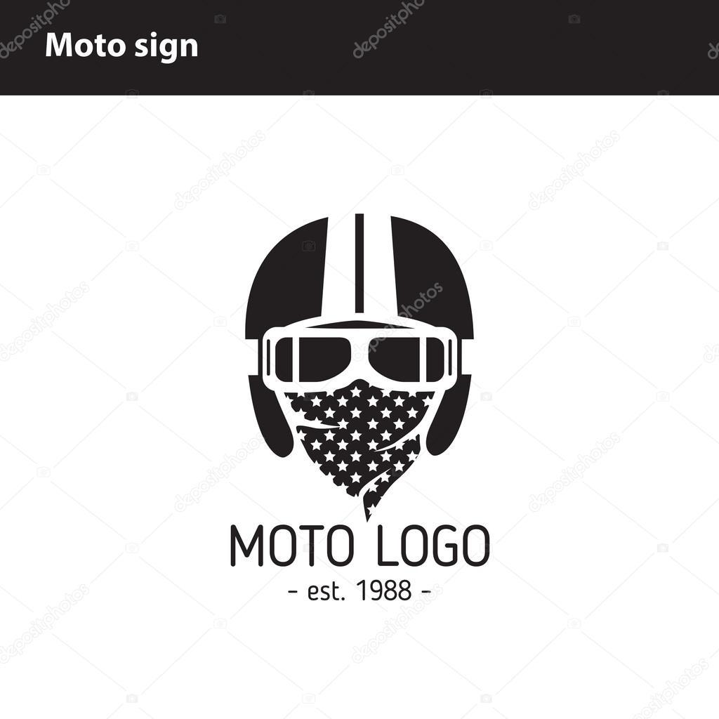 Insignia moto taller — Vector de stock © poladroid #115088578