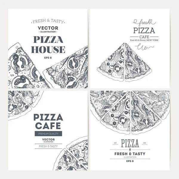 Pizza banner — Stock Vector © Seamartini #45404485