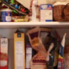 Kitchen Pantry Faucets Parts 食物在厨房里的食品储藏室 图库视频影像 C Jakerbreaker 70594703