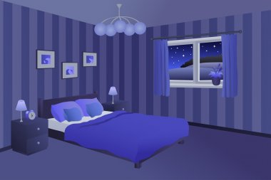 Bedroom Night Premium Vector Download For Commercial Use Format Eps Cdr Ai Svg Vector Illustration Graphic Art Design