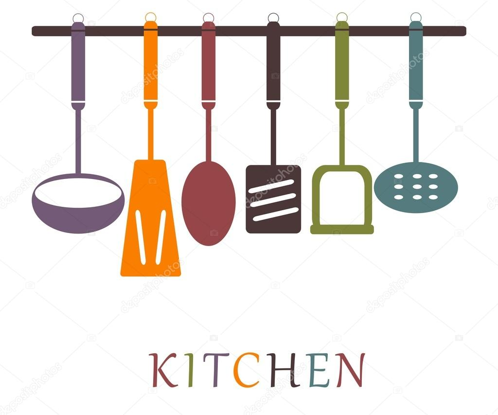 colorful kitchen accessories modern pendant lighting set of stock vector c sunnygirl94